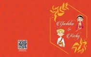 Personalised Wedding Card Template - 15