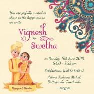Personalised Wedding Card Template - 8