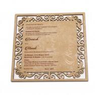 Wood Invite 17V