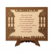 Wood Invite 4E