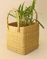 Kauna Grass Square Planter