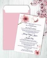 Personalised Wedding card Template 17