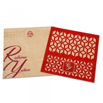 Laser Cut Wed Invites 12