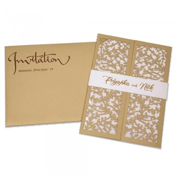 Laser Cut Wed Invite 20