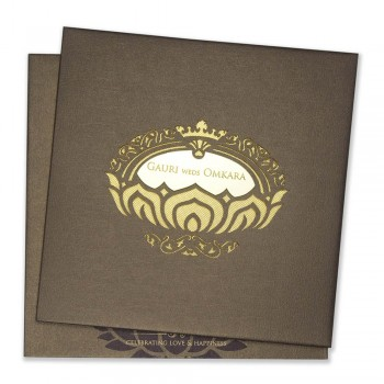 Laser Cut Wed Invite 21