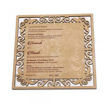 Wood Invite 17C