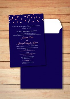 Personalised Wedding card Template 19