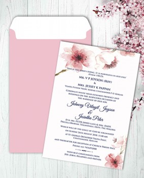 Personalised Wedding card Template 17