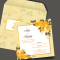 Personalised Wedding Card Template 21